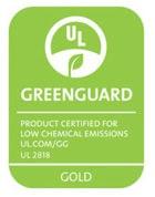 GreenGuard Gold Certified Seating